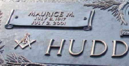 HUDDLESTON, MAURICE M. (CLOSE UP) - Saline County, Arkansas   MAURICE M. (CLOSE UP) HUDDLESTON - Arkansas Gravestone Photos