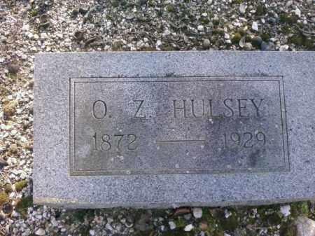 HULSEY, O.Z. - Saline County, Arkansas | O.Z. HULSEY - Arkansas Gravestone Photos