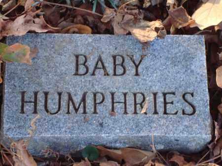 HUMPHRIES, BABY - Saline County, Arkansas | BABY HUMPHRIES - Arkansas Gravestone Photos