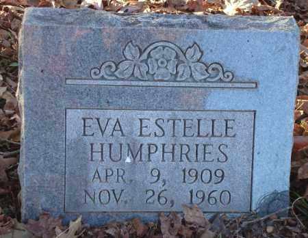 HUMPHRIES, EVA ESTELLE - Saline County, Arkansas | EVA ESTELLE HUMPHRIES - Arkansas Gravestone Photos