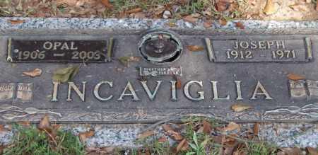 INCAVIGLIA, OPAL - Saline County, Arkansas | OPAL INCAVIGLIA - Arkansas Gravestone Photos