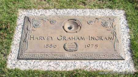 INGRAM, HARVEY GRAHAM - Saline County, Arkansas   HARVEY GRAHAM INGRAM - Arkansas Gravestone Photos