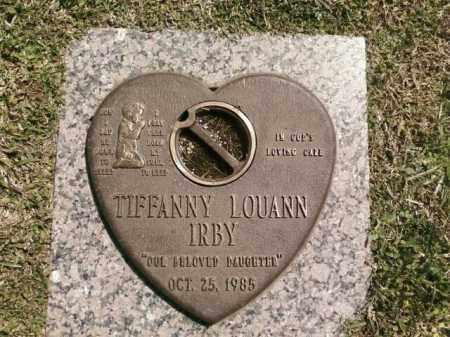 IRBY, TIFFANNY LOUANN - Saline County, Arkansas   TIFFANNY LOUANN IRBY - Arkansas Gravestone Photos
