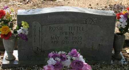 IRWIN, ROSIE - Saline County, Arkansas | ROSIE IRWIN - Arkansas Gravestone Photos