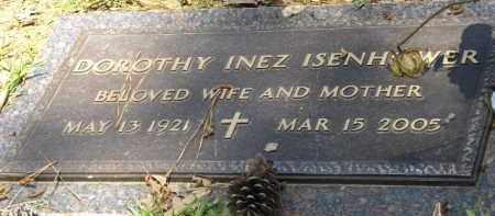 ISENHOWER, DOROTHY INEZ - Saline County, Arkansas   DOROTHY INEZ ISENHOWER - Arkansas Gravestone Photos