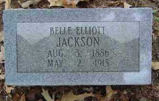 ELLIOTT JACKSON, BELLE - Saline County, Arkansas | BELLE ELLIOTT JACKSON - Arkansas Gravestone Photos