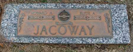 JOHNSON JACOWAY, RUTH ADLEE - Saline County, Arkansas | RUTH ADLEE JOHNSON JACOWAY - Arkansas Gravestone Photos