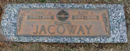 JACOWAY, RUTH ADLEE - Saline County, Arkansas | RUTH ADLEE JACOWAY - Arkansas Gravestone Photos