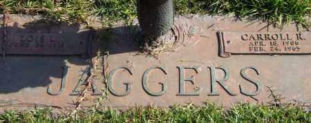 JAGGERS, CARROLL R. - Saline County, Arkansas   CARROLL R. JAGGERS - Arkansas Gravestone Photos