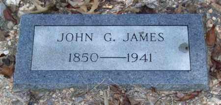 JAMES, JOHN G. - Saline County, Arkansas | JOHN G. JAMES - Arkansas Gravestone Photos