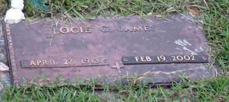 JAMES, LOCIE GLADYS - Saline County, Arkansas   LOCIE GLADYS JAMES - Arkansas Gravestone Photos