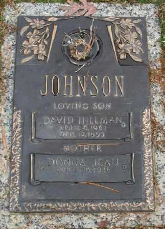 JOHNSON, DAVID HILLMAN - Saline County, Arkansas | DAVID HILLMAN JOHNSON - Arkansas Gravestone Photos