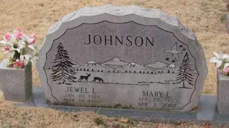 JOHNSON, JEWEL L - Saline County, Arkansas   JEWEL L JOHNSON - Arkansas Gravestone Photos