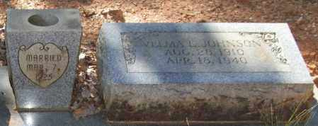 NETHERCUTT JOHNSON, VELMA E. - Saline County, Arkansas | VELMA E. NETHERCUTT JOHNSON - Arkansas Gravestone Photos