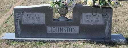 JOHNSTON, DOROTHY M. - Saline County, Arkansas | DOROTHY M. JOHNSTON - Arkansas Gravestone Photos