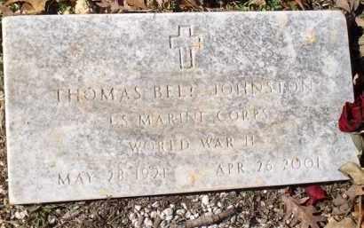 JOHNSTON (VETERAN WWII), THOMAS BELL - Saline County, Arkansas | THOMAS BELL JOHNSTON (VETERAN WWII) - Arkansas Gravestone Photos