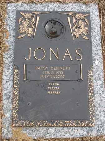 JONAS, PATSY - Saline County, Arkansas | PATSY JONAS - Arkansas Gravestone Photos