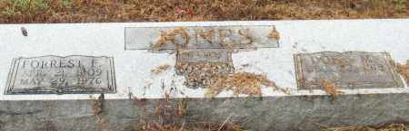 JONES, FORREST F. - Saline County, Arkansas | FORREST F. JONES - Arkansas Gravestone Photos
