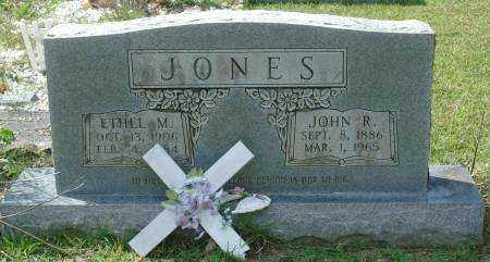 JONES, ETHEL M. - Saline County, Arkansas | ETHEL M. JONES - Arkansas Gravestone Photos