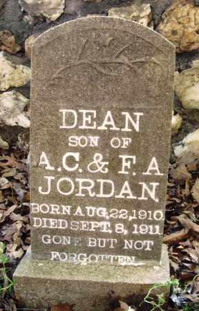 JORDAN, DEAN - Saline County, Arkansas   DEAN JORDAN - Arkansas Gravestone Photos