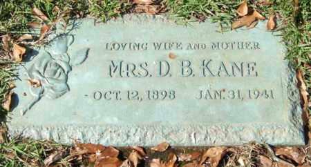 KANE, MABEL - Saline County, Arkansas | MABEL KANE - Arkansas Gravestone Photos