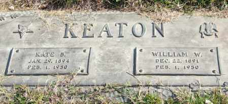 KEATON, KATE B. - Saline County, Arkansas   KATE B. KEATON - Arkansas Gravestone Photos
