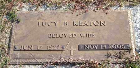 BAKER KEATON, LUCY - Saline County, Arkansas | LUCY BAKER KEATON - Arkansas Gravestone Photos