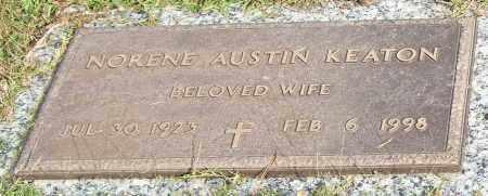 AUSTIN KEATON, NORENE - Saline County, Arkansas | NORENE AUSTIN KEATON - Arkansas Gravestone Photos