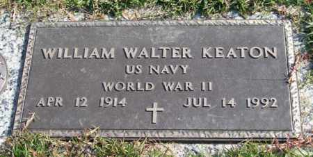 KEATON (VETERAN WWII), WILLIAM WALTER - Saline County, Arkansas   WILLIAM WALTER KEATON (VETERAN WWII) - Arkansas Gravestone Photos