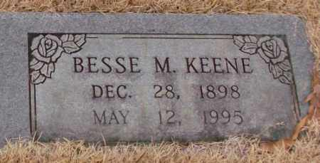 KEENE, BESSE M. - Saline County, Arkansas | BESSE M. KEENE - Arkansas Gravestone Photos