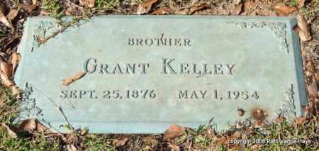 KELLEY, GRANT - Saline County, Arkansas | GRANT KELLEY - Arkansas Gravestone Photos