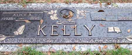 KELLY, ALICE A. - Saline County, Arkansas | ALICE A. KELLY - Arkansas Gravestone Photos