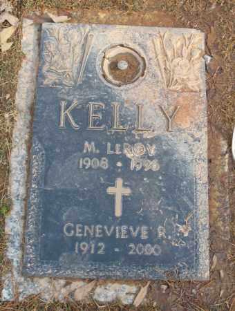 KELLY, M. LEROY - Saline County, Arkansas | M. LEROY KELLY - Arkansas Gravestone Photos