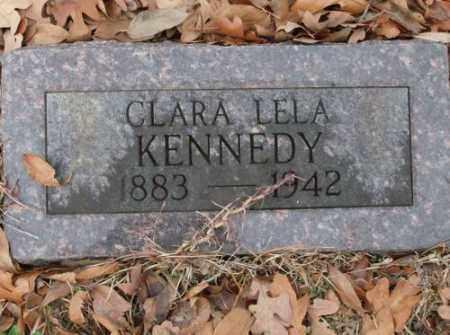 KENNEDY, CLARA LELA - Saline County, Arkansas | CLARA LELA KENNEDY - Arkansas Gravestone Photos