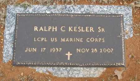 KESLER, SR. (VETERAN), RALPH C - Saline County, Arkansas | RALPH C KESLER, SR. (VETERAN) - Arkansas Gravestone Photos