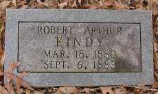 KINDY, ROBERT ARTHUR - Saline County, Arkansas | ROBERT ARTHUR KINDY - Arkansas Gravestone Photos