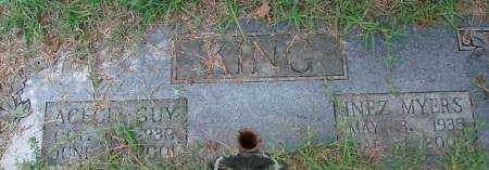 KING, ACECIL GUY - Saline County, Arkansas | ACECIL GUY KING - Arkansas Gravestone Photos