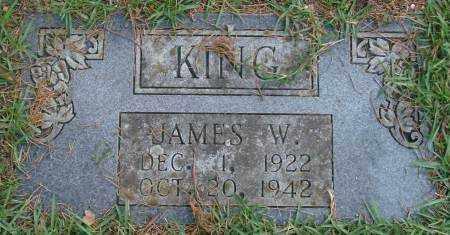 KING, JAMES W. - Saline County, Arkansas | JAMES W. KING - Arkansas Gravestone Photos