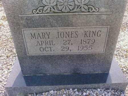 JONES KING, MARY - Saline County, Arkansas | MARY JONES KING - Arkansas Gravestone Photos