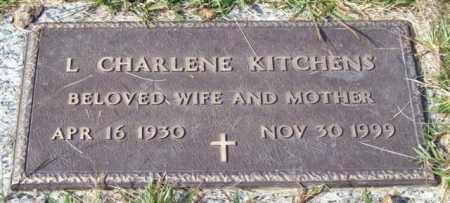 KITCHENS, L. CHARLENE - Saline County, Arkansas | L. CHARLENE KITCHENS - Arkansas Gravestone Photos