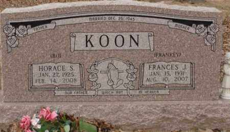 KOON, HORACE S. - Saline County, Arkansas | HORACE S. KOON - Arkansas Gravestone Photos