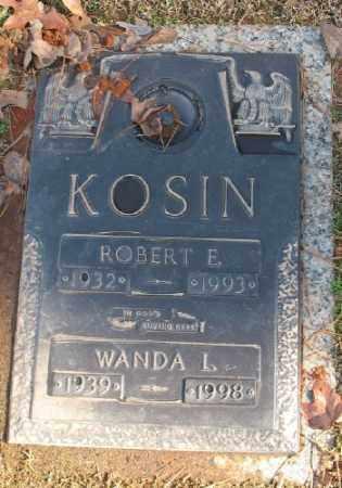 KOSIN, WANDA L. - Saline County, Arkansas | WANDA L. KOSIN - Arkansas Gravestone Photos