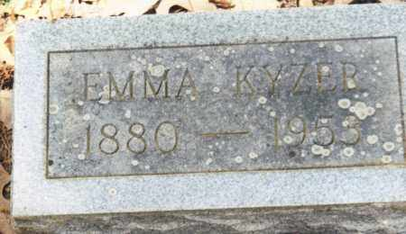 KYZER, EMMA - Saline County, Arkansas | EMMA KYZER - Arkansas Gravestone Photos