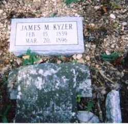 KYZER, JAMES MCGRADY - Saline County, Arkansas | JAMES MCGRADY KYZER - Arkansas Gravestone Photos