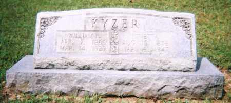 LOCKERT KYZER, NINETTA - Saline County, Arkansas | NINETTA LOCKERT KYZER - Arkansas Gravestone Photos