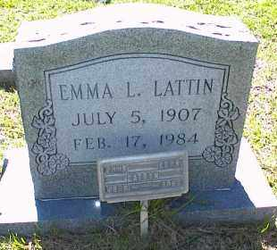BURNSIDES LATTIN, EMMA LEONA - Saline County, Arkansas | EMMA LEONA BURNSIDES LATTIN - Arkansas Gravestone Photos