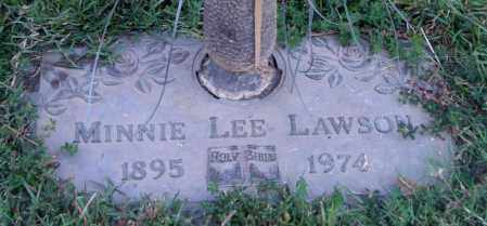 LAWSON, MINNIE LEE - Saline County, Arkansas | MINNIE LEE LAWSON - Arkansas Gravestone Photos
