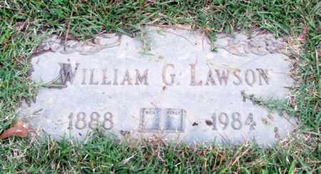 LAWSON, WILLIAM G. - Saline County, Arkansas | WILLIAM G. LAWSON - Arkansas Gravestone Photos