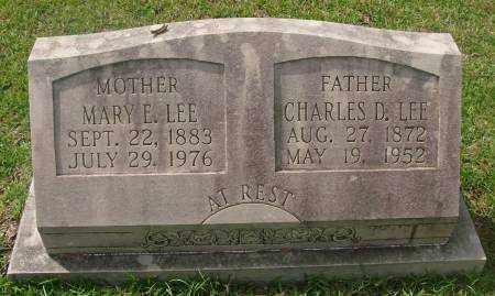 LEE, CHARLES D. - Saline County, Arkansas | CHARLES D. LEE - Arkansas Gravestone Photos