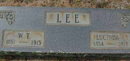 LEE, LUCINDA L. - Saline County, Arkansas | LUCINDA L. LEE - Arkansas Gravestone Photos